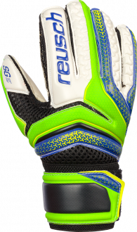 Reusch Serathor Finger Support Junior 3772811 511 green blue front
