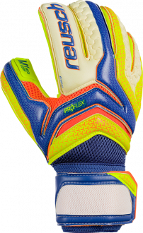 Reusch Serathor Pro M1 Roll Finger 3770157 484 blue yellow front