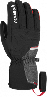 Reusch Sirius STROMBLOXX  4801160 7680 black red grey front