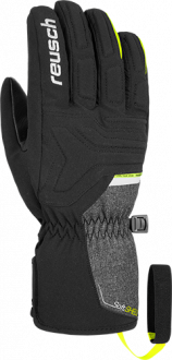Reusch Sirius STROMBLOXX  4801160 7686 black yellow grey front