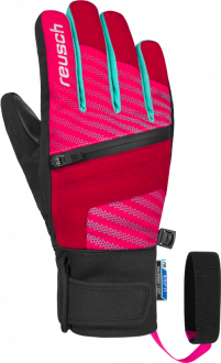 Reusch Theo R-TEX® XT Junior 4861202 311 red pink front