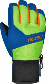 Reusch Torbenius R-TEX® XT Junior 4361210 595 green blue front