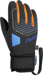 Reusch Torby R-TEX® XT Junior 4961210 7760 black blue front