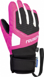 Reusch Torby R-TEX® XT Junior 4961210 7769 black pink front
