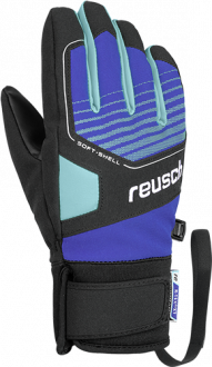 Reusch Torby R-TEX® XT Junior 4961210 7802 black blue front