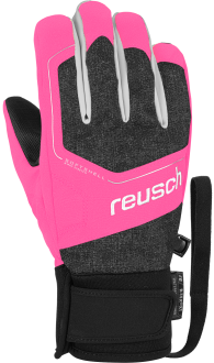 Reusch Torby R-TEX® XT Junior 6061210 7769 black pink front