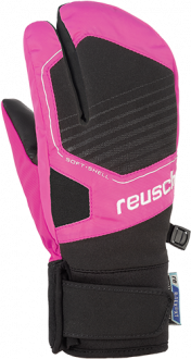 Reusch Torby R-TEX® XT Junior Lobster 4961710 7769 black pink front