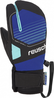 Reusch Torby R-TEX® XT Junior Lobster 4961710 7802 black blue front