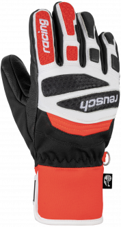 Reusch Worldcup Warrior Prime R-TEX® XT Junior 6071244 7810 white black red front