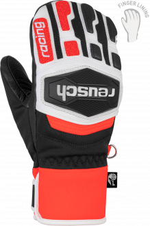 Reusch Worldcup Warrior R-TEX® XT JR Mitten 6071533 7810 white black red front