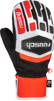 Reusch Worldcup Warrior R-TEX® XT Mitten 6011533 7810 white black red front