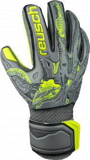 Reusch X-Ray 3 SD Junior 5072531 6001 black yellow grey front