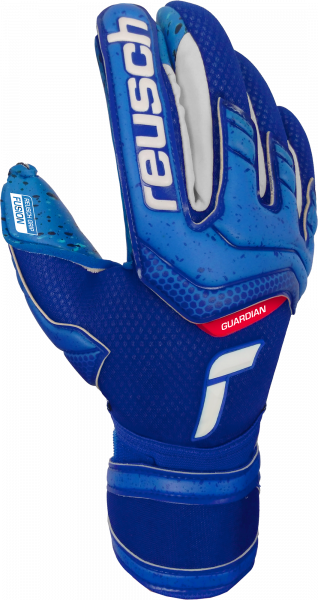 Reusch Attrakt Fusion Finger Support Guardian Junior 5172940 4010 blue front
