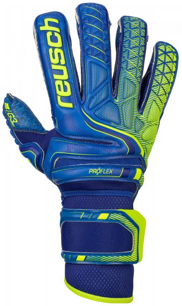 Reusch Attrakt G3 Fusion Evolution Ortho-Tec Defender 5070958 4949 blue yellow front