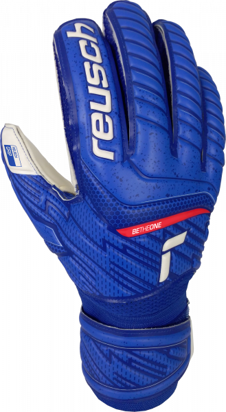 Reusch Attrakt Grip 5170815 4011 white blue front