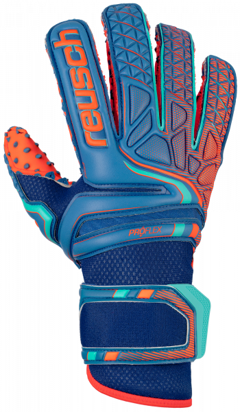 Reusch Attrakt Pro G3 SpeedBump Evolution 5070979 4959 blue orange front
