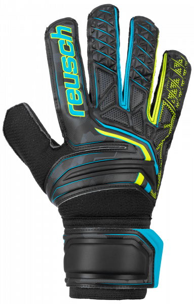 Reusch Attrakt RG 5070615 7052 black yellow front