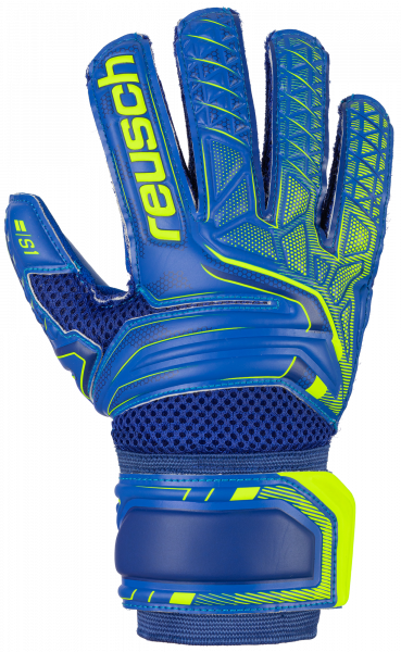 Reusch Attrakt S1 Junior 5072215 4949 blue yellow front