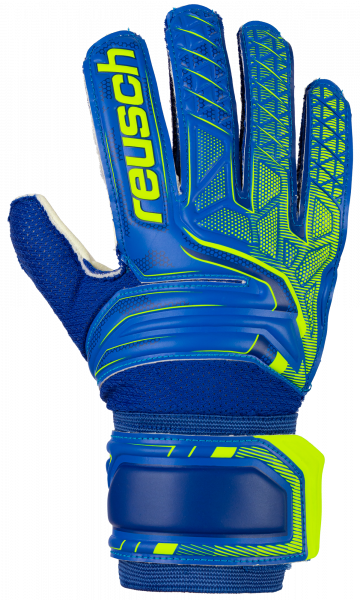 Reusch Attrakt SG Junior 5072815 4940 blue yellow front