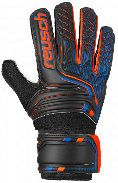 Reusch Attrakt SG Junior 5072815 7783 black orange front