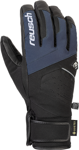 Reusch Beat GTX 4901340 7787 black blue front
