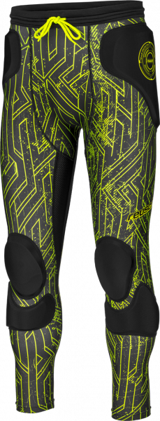 Reusch CS Femur 3_4 Short Padded 3817530 704 black front
