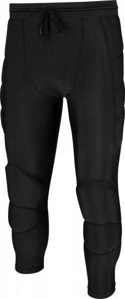 Reusch Compression Short 3_4 Soft Padded 5117500 7700 black front