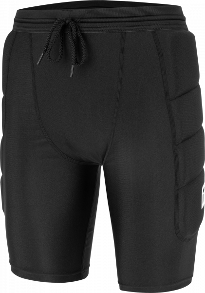 Reusch Compression Short Soft Padded 5118500 7700 black front
