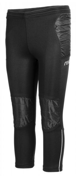 Reusch Contest II Pant Extra Junior 5026206 7702 black silver front
