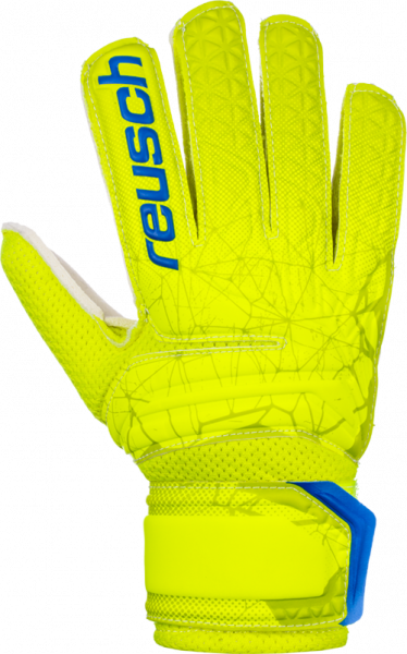 Reusch Fit Control RG Open Cuff Junior 3972615 588 yellow front