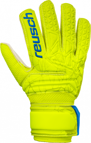 Reusch Fit Control SG Junior 3972815 588 yellow front