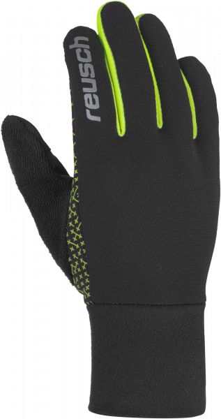 Reusch Ian  6006105 7752 black yellow front