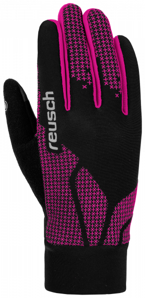 Reusch Ian Junior 4865105 717 black red front