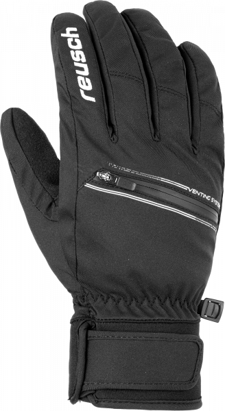 Reusch Laurel TOUCH-TEC 6005141 7701 white black front