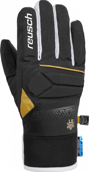Reusch Lindsey Vonn Junior R-TEX® XT 4861270 707 black gold front