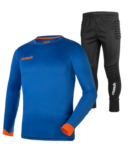 Reusch Match Set Junior 5040200 4467 blue orange front