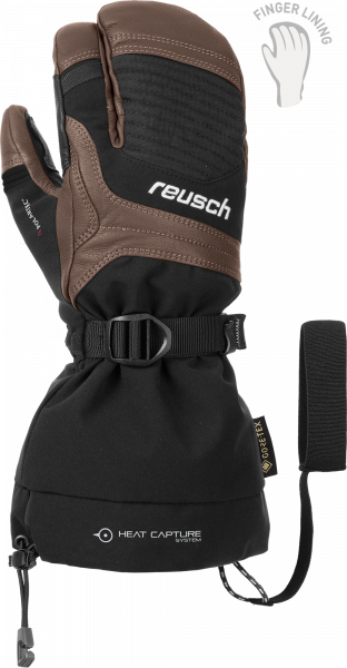 Reusch Ndurance Pro Lobster GTX+ Gore active techn 4902900 8872 black front