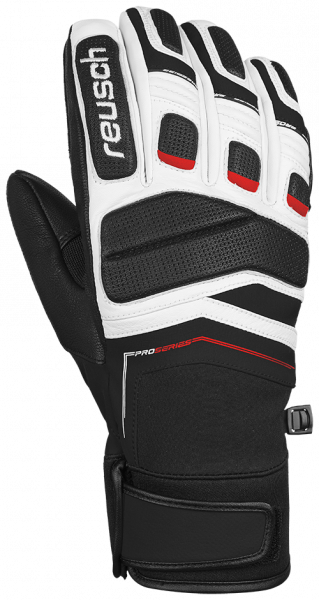 Reusch Profi SL 4701110 745 white black red front