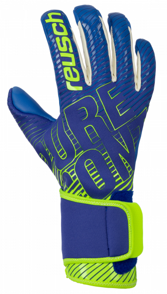 Reusch Pure Contact 3 G3 Duo 5070005 4949 blue yellow front