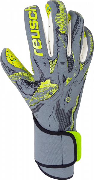 Reusch Pure Contact X-Ray 3 G3 Fusion 5070931 6001 black yellow grey front