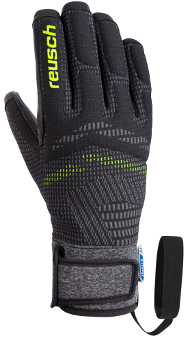 Reusch Re:Knit Laurin R-TEX® XT 4901266 7709 black front