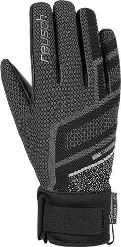 Reusch Re:Knit Victoria R-TEX® XT 4931204 7702 black silver front