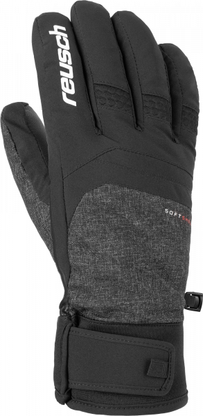 Reusch Ryan Meida® Dry TOUCH-TEC 6001184 7015 black grey front