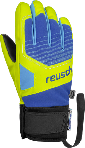 Reusch Torby R-TEX® XT Junior 4961210 4459 blue yellow front