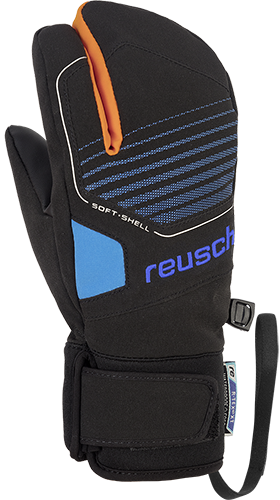 Reusch Torby R-TEX® XT Junior Lobster 4961710 7760 black blue front