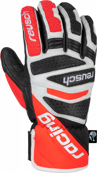 Reusch Worldcup Warrior DH 6011119 7810 white black red front
